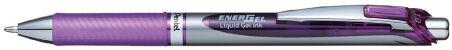 Pentel Recharge stylo roller à encre gel Liquid LR10, noir