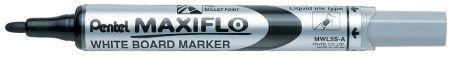 Pentel Marqueur pour tableau blanc MAXIFLO MWL5S, noir