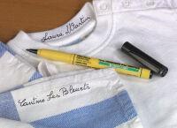 Pentel marqueur pour textiles GREEN-LABEL NM10, noir