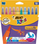 BIC KIDS Feutre Visaquarelle, étui en carton de 10