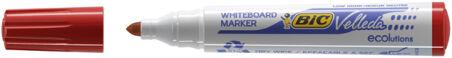 BIC Marqueur tableau blanc Velleda 1701 ECOlutions, rouge