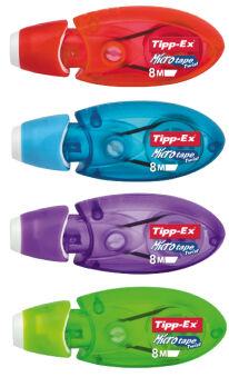 Tipp-Ex roller correcteur Micro Tape Twist, présentoir en