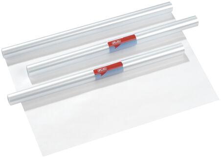 herlitz Film protège-livre, 400 mm x 5 m, PP, transparent
