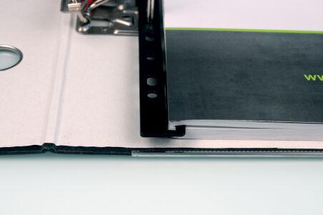 helit Baguette à relier 'the rail', A4, blanc