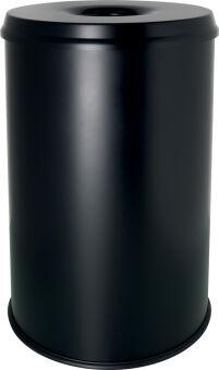 helit Corbeille à papier en acier 'the guardian', 30 litres