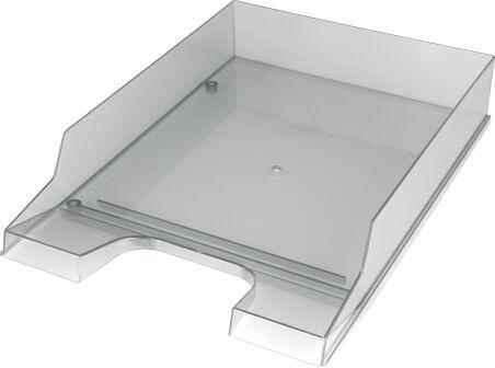 helit Corbeille à courrier 'the heavyweight' A4, transparent