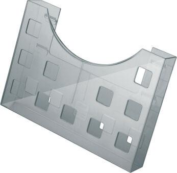 helit Porte-brochures 'the grid', A5/2x A6, gris transparent