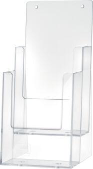 helit Porte-brochures de table 'the helpdesk', 1 x DL
