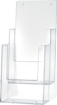 helit Porte-brochures de table 'the helpdesk', 2 x DL