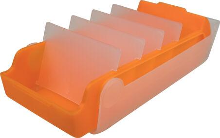helit Boîte à fiches éducatives 'the beebox' A8, bleu