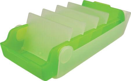 helit Boîte à fiches éducatives 'the beebox' A7, orange