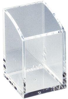 MAUL Pot à crayons en acrylique, transparent, épaisseur: 5mm
