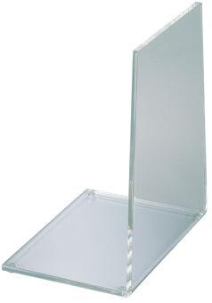 MAUL Serre-livres en acrylique, transparent, épaisseur: 4 mm