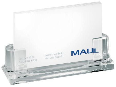 MAUL Porte-cartes de visite acrylique pour env. 35 cartes
