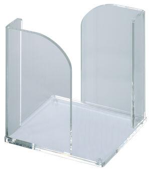 MAUL Boîte à mémos en acrylique, transparent, vide