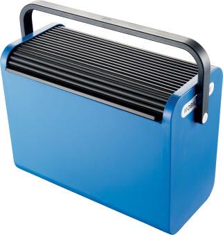 helit Boîte pour dossiers suspendus 'the mobil box', bleu