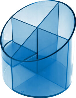 helit Pot multifonction 'the cross', 4 compartiments, bleu