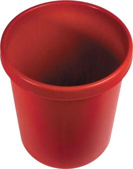 helit Corbeille à papier 'the german', 30 litres, PE, gris