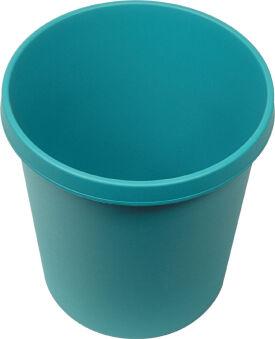 helit Corbeille à papier 'the german', 45 litres, PE, bleu