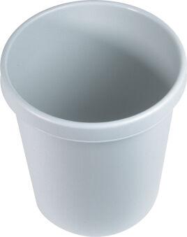 helit Corbeille à papier 'the german', 45 litres, PE, gris