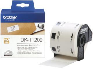 brother Etiquette d'adresse DK-11201, 29 x 90 mm, blanc