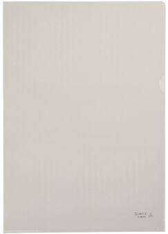 HETZEL Pochette transparente Standard, A4, PVC, grainé, 0,15