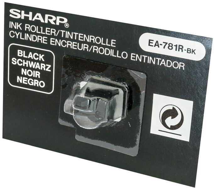 Sharp 5215077 7 13 rouleau encreur pour calculatrice for Bureau rouleau