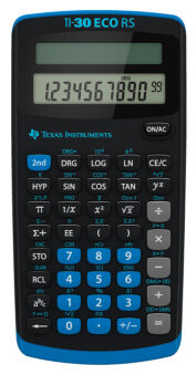 TEXAS INSTRUMENTS calculatrice scolaire TI-30 eco RS