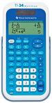 TEXAS INSTRUMENTS calculatrice d'école TI-34 Multi View