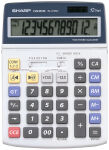 SHARP calculatrice de bureau EL-2125C alimentation solaire
