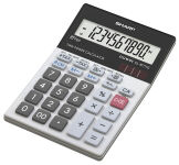 SHARP Calculatrice de bureau modèle EL-M711GGY