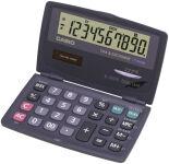 CASIO calculatrice SL-210 TE, avec alimentation solaire/par