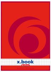 herlitz bloc de papier à lettre x.book, A5, non perforé,