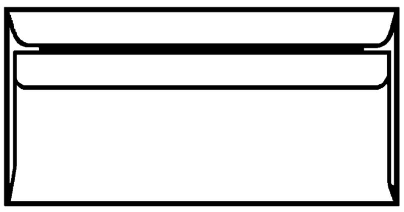 Herlitz 768614 1 90 herlitz envellope format c6 sans fen tre blanc for Format fenetre