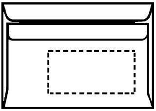 herlitz Envellope, format long, sans fenêtre, blanc