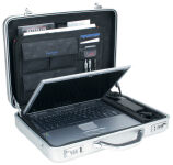 ALUMAXX Attaché-case pour Laptop'MERCATO', aluminium, argent