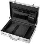 ALUMAXX Attaché-case pour laptop 'KRONOS', aluminium, argent