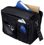 LIGHTPAK Valise de pilotes / Boardcase 'THE FLIGHT', noire