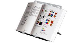 Fellowes Porte-copies/serre-livres BookLift, argent