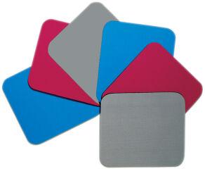 Fellowes tapis de souris standard, en polyestère, bleu