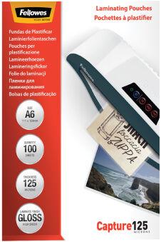 Fellowes Pochette à plastifier, A4, brillante, 160 microns