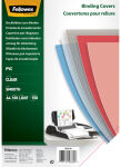 Fellowes couverture, format A4, pvc, transparent, 0,18 mm