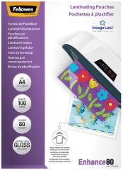 Fellowes Pochette à plastifier, A5, brillante, 160 microns