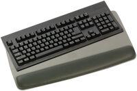 3M Repose-poignet gel avec support-clavier, noir