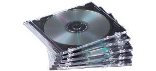Fellowes Pochette vide pour CD/DVD, Jewel Case,