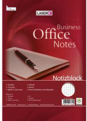 LANDRÉ bloc-notes à spirale, format A6, 40 feuilles,