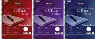 LANDRÉ Bloc à spirale 'Business Office Notes', A4, carrelé,