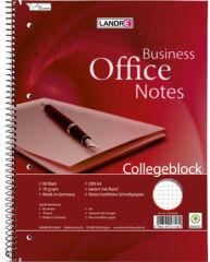 LANDRÉ Cahier 'Business Office Notes', format A5, quadrillé