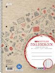 LANDRÉ Cahier reliure 'recycling'A4+, quadrillé, 160 pages