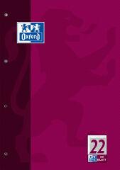 Oxford Bloc de travail, A4, 50 pages, linéature 1 ,